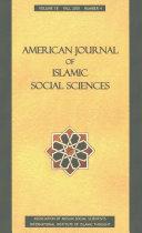 American Journal of Islamic Social Sciences 18 4