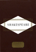 Shakespeare  Poems