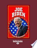Joe Biden  People We Should Know   Large Print 16pt
