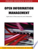 Open Information Management Applications Of Interconnectivity And Collaboration Book PDF