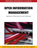 Open Information Management  Applications of Interconnectivity and Collaboration