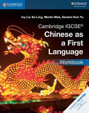 Books - New Cambridge Igcse� Chinese As A First Language Workbook | ISBN 9781108434959