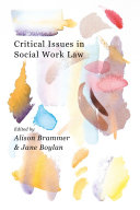 Critical Issues in Social Work Law
