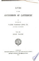 Lives of the Archbishops of Canterbury: (New series, v.1-6). Reformation period