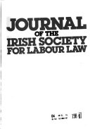 Journal of the Irish Society for Labour Law