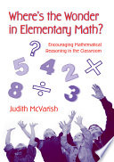 Where s the Wonder in Elementary Math