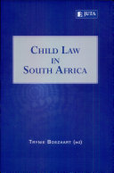 Pdf Child Law in South Africa