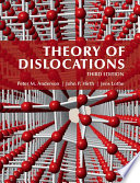 Theory Of Dislocations