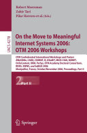 On the Move to Meaningful Internet Systems 2006: OTM 2006 Workshops Pdf/ePub eBook