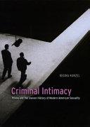 Criminal Intimacy