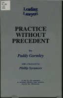 Practice Without Precedent