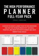 High Performance Planner Full-year Pack