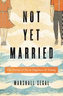 Not Yet Married Pdf/ePub eBook