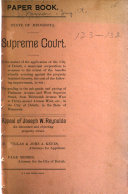 Pdf Records and Briefs in Cases Decided by the Supreme Court of Minnesota