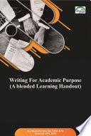 Writing For Academic Purpose