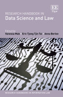 Research Handbook in Data Science and Law Pdf/ePub eBook