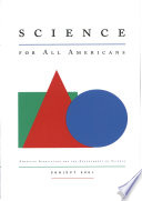 """""""Science for All Americans"""" by F. James Rutherford, Andrew Ahlgren"""