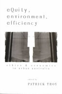 Cover of Equity, Environment, Efficiency