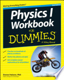 Cover of Physics I Workbook For Dummies