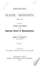 Pennsylvania State Reports
