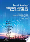 Harmonic Modeling of Voltage Source Converters using Simple Numerical Methods Book