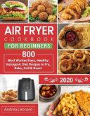 Air Fryer Cookbook For Beginners 2020