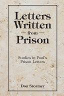 Letters Written from Prison [Pdf/ePub] eBook