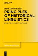 Principles of Historical Linguistics