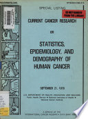 Special listing (International Cancer Research Data Bank). v. 246, 1979