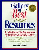 Gallery of Best Resumes Book