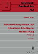 Informationssysteme und K  nstliche Intelligenz  Modellierung