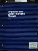Employee and Labor Relations Manual Book