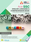"""English Language Book for SSC CGL, CHSL, CPO and Other Govt. Exams (English E-Book)"" by Adda247 Publications"