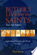 Butler s Lives of the Saints