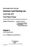 American Land Planning Law