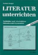Literatur Unterrichten Tafelbilder Und Arbeitsblätter