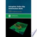Intraplate Strike slip Deformation Belts Book