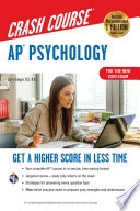 AP   Psychology Crash Course  For the New 2020 Exam  Book   Online Book PDF