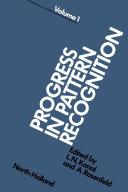 Progress in Pattern Recognition 1 [Pdf/ePub] eBook