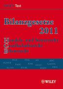 Bilanzgesetze 2011