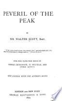 Waverley Novels: Peveril of the Peak