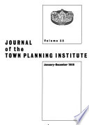 Journal of the Town Planning Institute