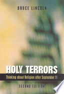Holy Terrors  Second Edition