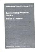 Manufacturing Processes  plastics
