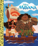 Moana Little Golden Board Book  Disney Princess  Book PDF