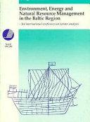 Environment  Energy  and Economy