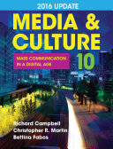 Loose leaf Version for Media   Culture with 2016 Update