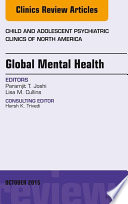 Global Mental Health  An Issue of Child and Adolescent Psychiatric Clinics of North America