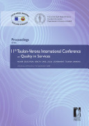 Proceedings of the 11th Toulon Verona International Conference on Quality in Services