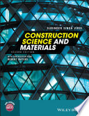 Cover of Construction Science and Materials